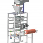 AP_05_43 4 line sachet packing machine for powder products