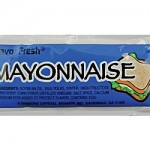 mayonnaise sachet apckage