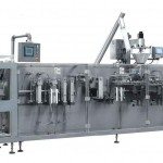 Horizontal doypack packing machine